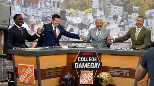 "ESPN's ""College GameDay"" is coming to Memphis Saturday."