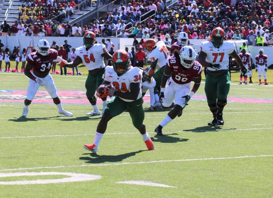 FAMU Bo Kendrick made some key plays in the game-winning drive versus South Carolina State. He hopes to get the ground game going when the Rattlers face the North Carolina A&T Aggies.