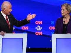 With Elizabeth Warren's rise, Joe Biden faces Dems' anxiety about 2020 bid