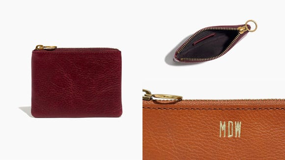 Best gifts for teachers 2019: Madewell Leather Pouch Wallet