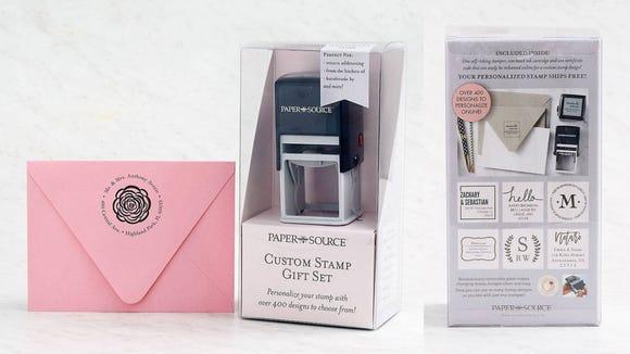 Best gifts for teachers 2019: Custom Stamp Gift Set