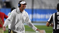 Lane Kiffin's Florida Atlantic Owls were called for nine penalties for 90 yards in a loss to Marshall on Friday.