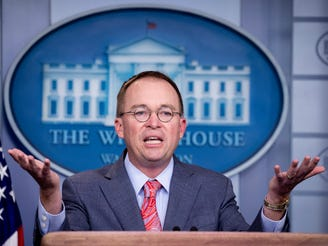 'He still considers himself to be in the hospitality business': Mulvaney explains Trump's Doral decision