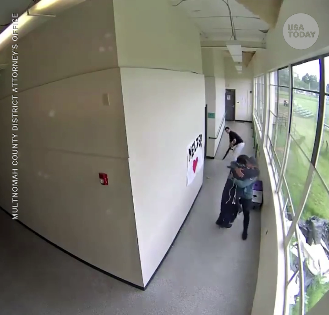 Oregon coach Keanon Lowe takes gun from high school student, hugs him in viral video