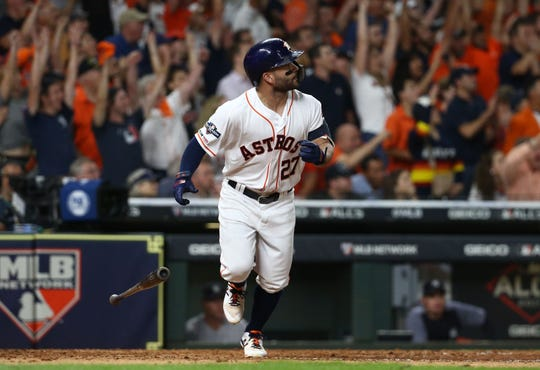 Westlake Legal Group ee6818a5-1ff4-4aaa-85d9-0e78211c2f45-USP_MLB__ALCS-New_York_Yankees_at_Houston_Astros_1 Jose Altuve's walk-off home run sends Astros back to World Series