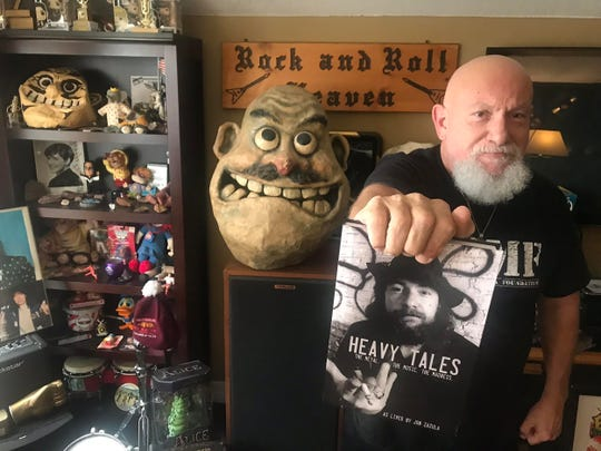 "Jon Zazula of Megaforce Records tells his story in his new book, ""Heavy Tales: The Metal. The Music. The Madness."""
