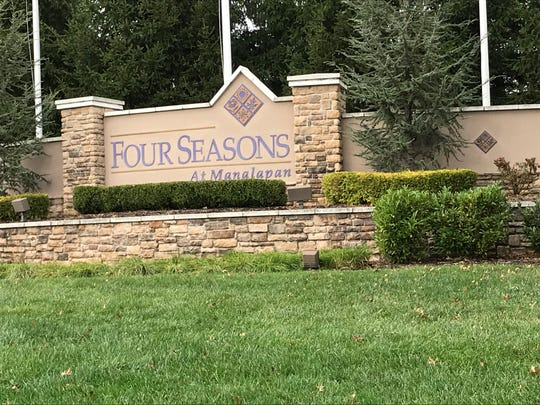 Residents of the Four Seasons at Manalapan community across Route 33 from a planned warehouse complex object to possible noise and pollution.