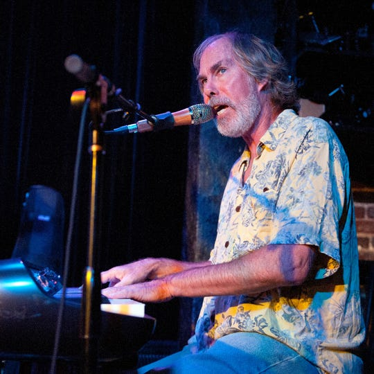 Bill Payne of Little Feat, pictured performing as part of Leftover Salmon during the 15th Annual Americana Music Festival & Conference Pre Fest Kickoff at The Basement on Sept. 16, 2014 in Nashville, Tennessee.