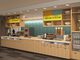 A breakfast bar at the Home2 Suites by Hilton (opening April 2020) is seen in this rendering submitted to Williston planners in 2018.