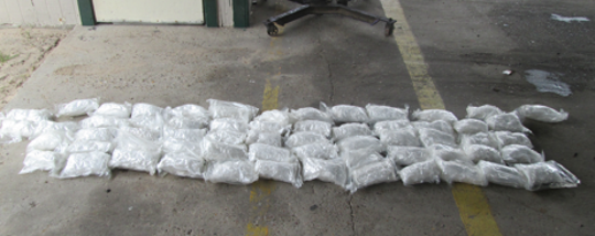 U.S. Border Patrol agents seized over $4 million worth of narcotics at a checkpoint on last week.