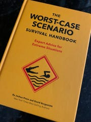 The exhibit at the Franklin Institute is based upon 'The Worst-Case Scenario Survival Handbook' by Joshua Priven and David Borgenicht (Chronicle Books).