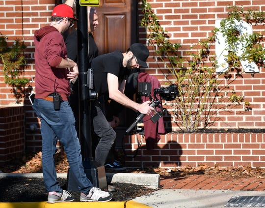 A video production crew was tight lipped about what they were filming at Botto's Italian Line Restaurant in Swedesboro on Monday. They are reported to be filming an episode of Gordon Ramsay's '24 Hours to Hell & Back' reality FOX network TV show.