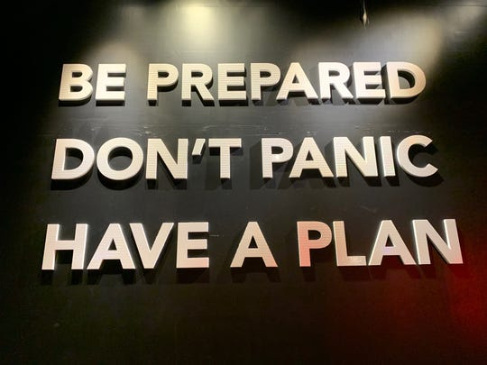 'Be Prepared. Don't Panic. Have a Plan.' That's the motto of the authors of 'Worst-Case Scenario' handbook.