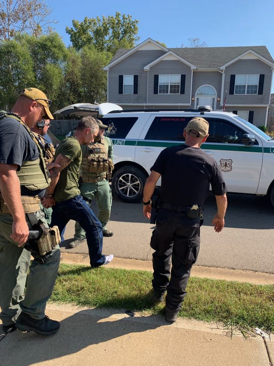 Thomas Reynolds is captured on Butts Road in Montgomery County on Sunday, Oct. 20, 2019.