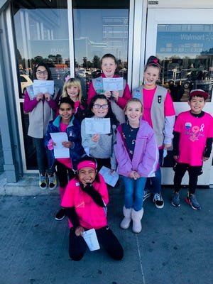 The Manville Girl Scout Troops 60171 and 63411, along with Middlesex Travel Soccer (MYSA) is helping those being treated for all types of cancer during Breast Cancer Awareness Month in October.
