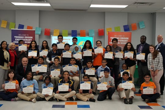 NJ TOP 2019 NJSLA test scored 850 students. These students worked very hard for this achievement and the guests were happy to be part of this recognition.