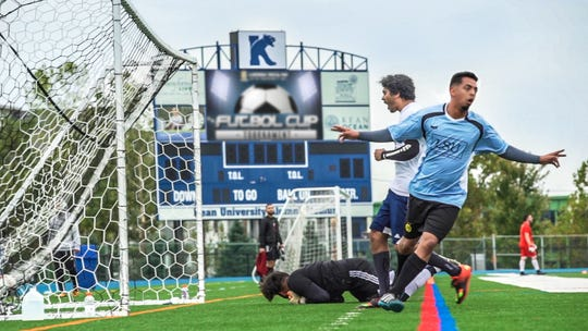 Kean University Fraternity raised $3K for Children's Specialized at Charity Soccer Tournament.