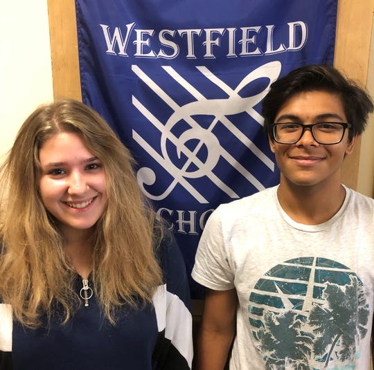 Westfield High School juniors Zaria Katz and Aishik Palit have been accepted into the American Choral Directors Association (ACDA) All Eastern Choir. The two will perform with high school students from across the eastern seaboard at a March conference in Rochester, New York, under the baton of Dr. Edith Copley.