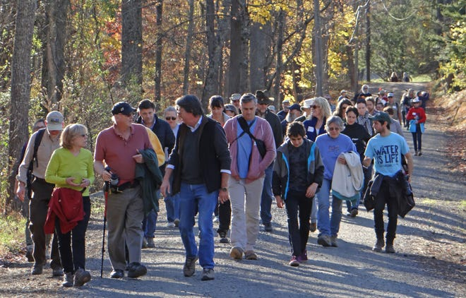 The community is invited to the 25th annual Donald and Beverley Jones Memorial Hike beginning at 12 p.m. on Nov. 10 at the Prallsville Mill on Route 29. The hike is designed to showcase open space and farmland in the Wickecheoke Creek Greenway, preserved over the past 35 years by New Jersey Conservation Foundation.