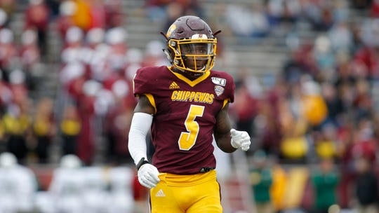 Central Michigan's Jonathan Ward has rushed 661 yards this season, 393 and six touchdowns during a three-game winning streak while averaging 7.7 yards a carry.