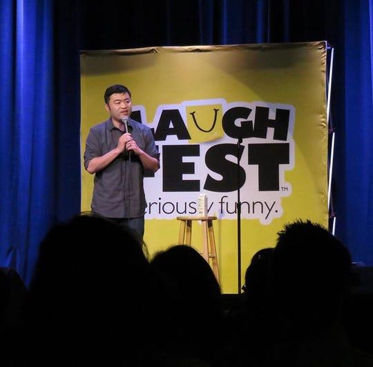 Detroit News recruiting expert Allen Trieu is a standup comedian.