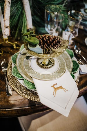 Have fun with your place mats to add dimension and texture to your table.