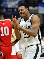 Xavier Tillman and Michigan State are the preseason No. 1 basketball team in the Associated Press Top 25.