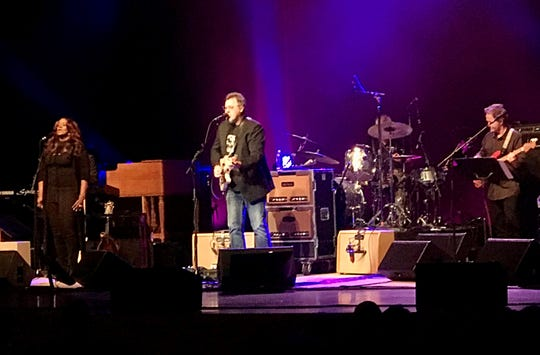 Vince Gill and his seven-person band played for two hours and 45 minutes Oct. 19 at the Weidner Center.