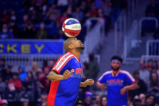 The Harlem Globetrotters will show off Dec. 28 at the Resch Center.