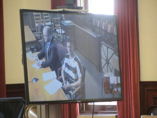 Scott Allen Jenks makes his initial appearance in Cascade County District Court Monday, Oct. 21, after he allegedly injured several first responders while driving under the influence.