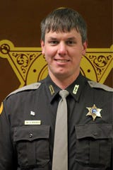 This undated photo released by Gallatin County Sheriff's Office shows deputy Jake Allmendinger. Authorities say the Montana county deputy was been killed in a vehicle accident on an icy mountain road while responding to a report of a stranded vehicle. Around 300 people and 150 cars from 50 law enforcement agencies are expected to attend Friday's funeral.