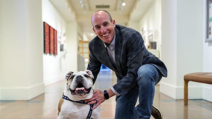 Doyel: Butler mascot Trip and handler Michael Kaltenmark will retire