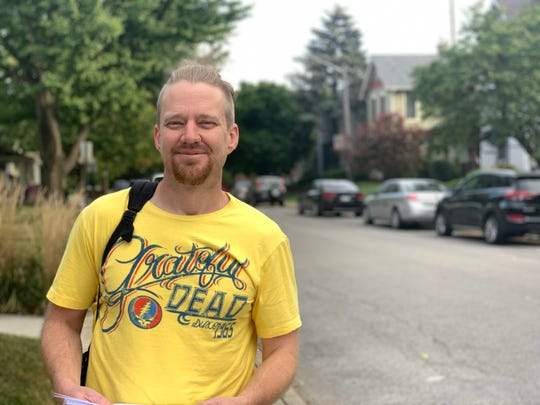 Green Party candidate Mike Smith is a candidate for the District 16 council seat.