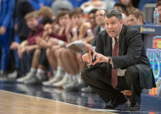 Mark Galloway, coach of Culver Academies, has been suspended for four varsity games for violating IHSAA by-laws.