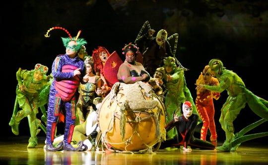 "Cirque du Soleil's ""OVO"" is returning to El Paso next year."