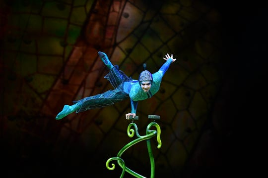 "Cirque du Soleil's ""OVO"" is returning to El Paso in 2020."