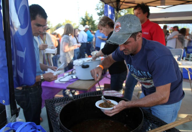 The Realtor's Association of Acadiana hosts its 2011 Gumbo Cook-Off to benefit area housing charities Thursday evening at Parc International in downtown Lafayette.