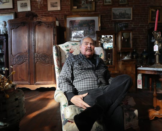 Joe Ley has been running Joe Ley Antiques for over 50 years in Louisville. Oct. 18, 2019