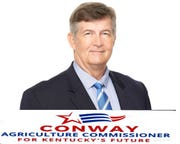 Robert Conway is a Democratic candidate for Kentucky agriculture commissioner.