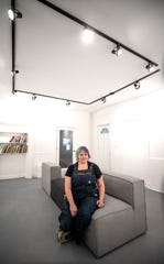 A new communal art space is about to open in Portland. Lauren Bader is one of the owners of the business. Oct. 21, 2019.