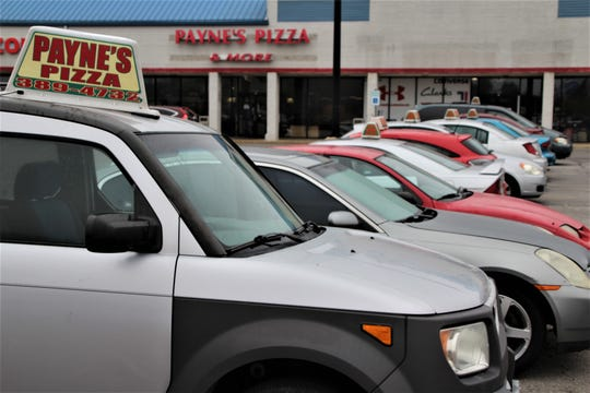 Payne's Pizza & More has a fleet of 10 delivery vehicles and owners Brett Payne and Kelsie Ratliff expect to increase the fleet to 12 vehicles soon. Payne's delivers to almost all of Marion County.