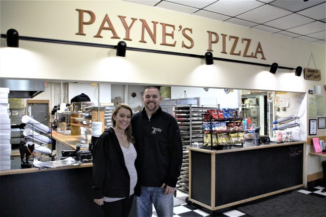 Siblings Kelsie Ratliff and Brett Payne operate their family business, Payne's Pizza & More, located at 1624 Marion-Mount Gilead Road, Marion. Their parents, Larry and Melanie Payne, purchased the pizza shop in 2000. The family also owns and operates a store in Delaware.