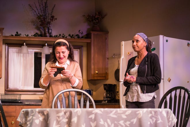 """The United Performing Arts Fund has announced $8,440,613 in allocations to its 14 members groups, including Renaissance Theaterworks. In this photo, Isabel Quintero, left, and Marti Gobel perform in Renaissance's production of """"The Roommate."""""""