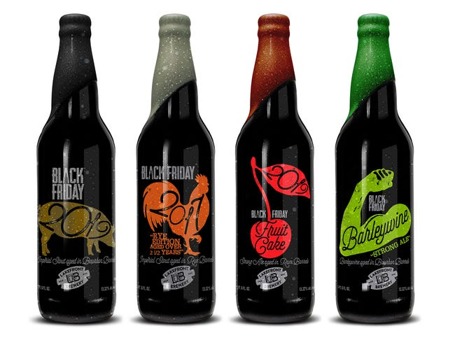 Lakefront Brewery will offer four varieties of specialty beers during its Black Friday event this year.