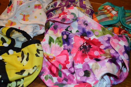 Wholesome Diaper Co. customers choose from boy, girl or gender-neutral covers, many of which are made by Wisconsin companies, like Imagine Baby Products.