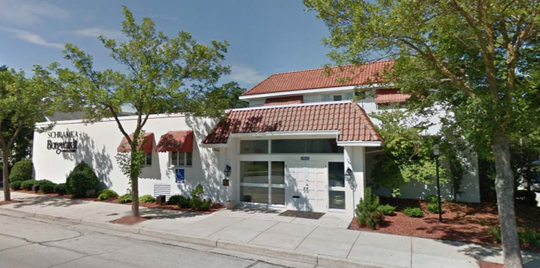 Ryan Oschmann, the owner of Bass Bay Brewhouse, is proposing to convert the former Schramka-Borgwardt Funeral Home, at 1603 S. 81st St., into a restaurant with a rooftop patio.