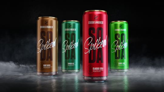 Wisconsin is among the first markets getting a new line of organic spiked sodas