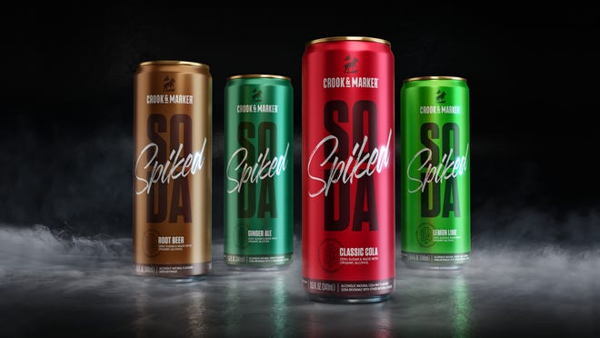 Crook & Marker brings its version of low-calorie spiked sodas to Wisconsin first.