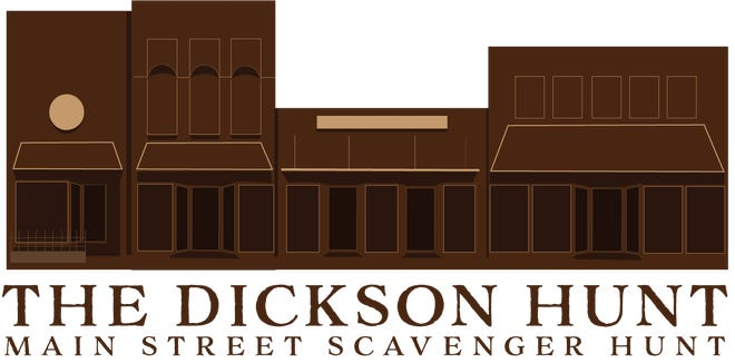 Downtown Dickson Scavenger Hunt logo