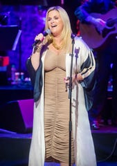 Trisha Yearwood performs during the Medallion Ceremony at the Country Music Hall of Fame Sunday, October 20, 2019.